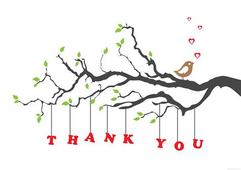 formal thank you card thank you by brookhollow