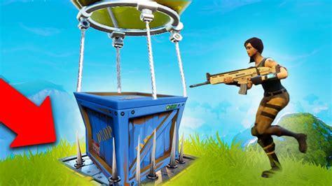 legendary supply drop trap fortnite battle royale youtube