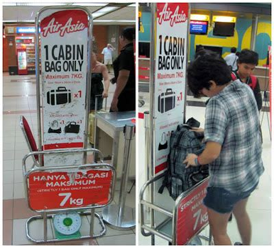 airasia baggage cabin mantra senja tips 7kg packing untuk budget traveler