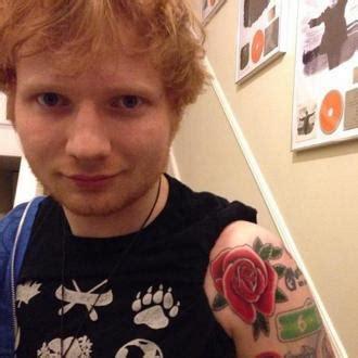 ed sheeran couple tattoo ed sheeran ed sheeran s tattoos inspired by new album