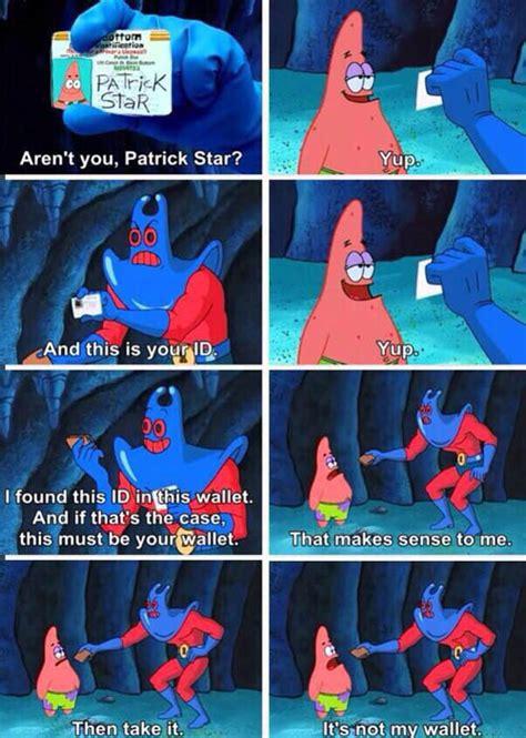 Spongebob Wallet Meme - 24 spongebob jokes that are still funny smosh