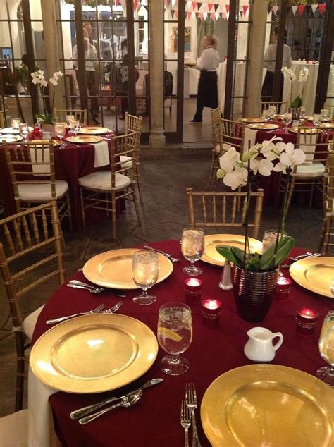 burgundy and gold decorations 25 best ideas about gold chargers wedding on