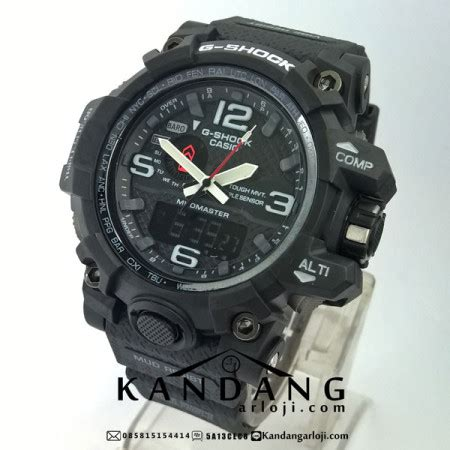 Jam Tangan Casio G Shock Mud Master Glow In The Darkblack List jual g shock gwg 1000 1a mudmaster hitam