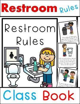 classroom bathroom procedures restroom rules class book beginning of school bathroom
