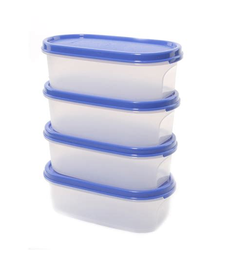 Tupperware Set tupperware mm oval 4 pcs container set 500ml by tupperware kitchen dining home