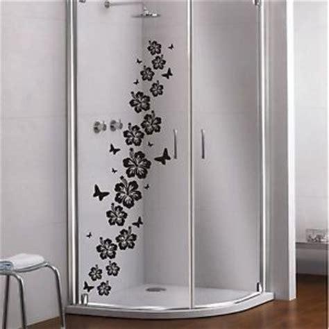 glas dekor aufkleber fensterbild dekor folie dusche - Dekor Glas Folie