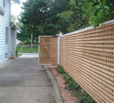 custom wood american fence company des moines