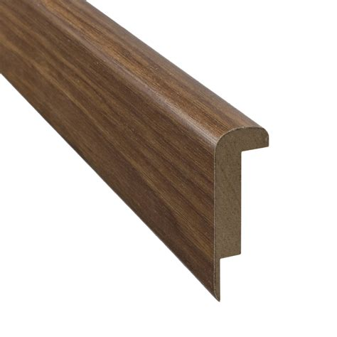 shop pergo 2 37 in x 78 74 in hickory stair nose floor moulding at lowes com