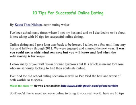10 Tips For Dating A by 10 Tips For Dating Success