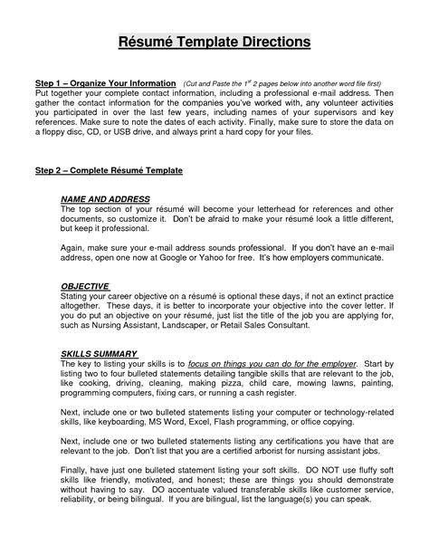 objective resume templates ideal vistalist co