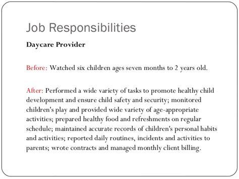 child care provider job description charlotte clergy