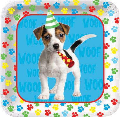 puppy birthday supplies pawty time puppy supplies supplies at parties4kids