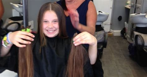 cut and inch off hair in pictures brave nell has 17 inches chopped off her hair