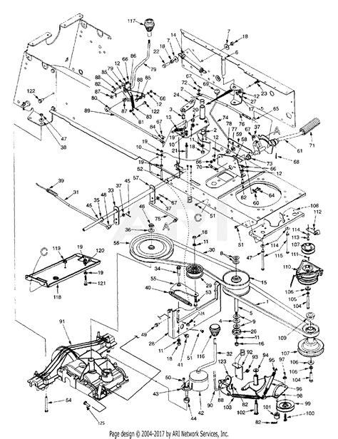 Mtd 14ai849h131 1999 Parts Diagram For Drive Pto Clutch