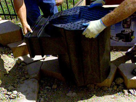 building a backyard water feature how to build a backyard water feature how tos diy