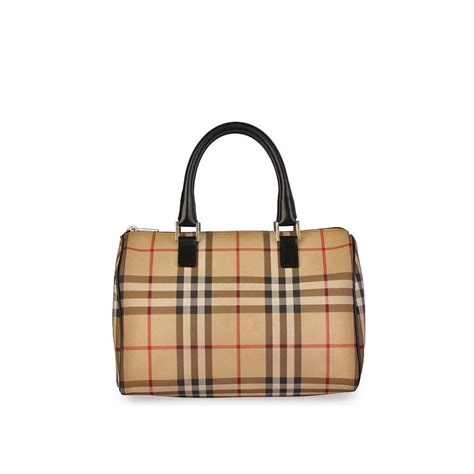 Resort Burberry Check Satchel burberry haymarket check satchel luxity