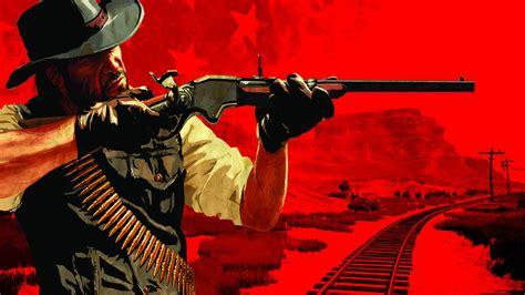 game gun wallpaper 1920x1080 red dead redemption gun western cowboy red