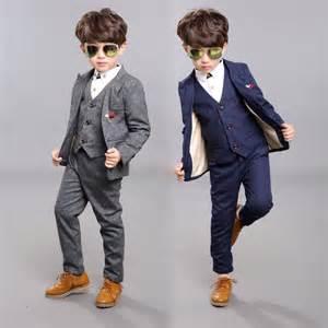 costume enfant mariage drop shipping wholesale autumn2015 costume garcon mariage boys velvet casual suit cotton