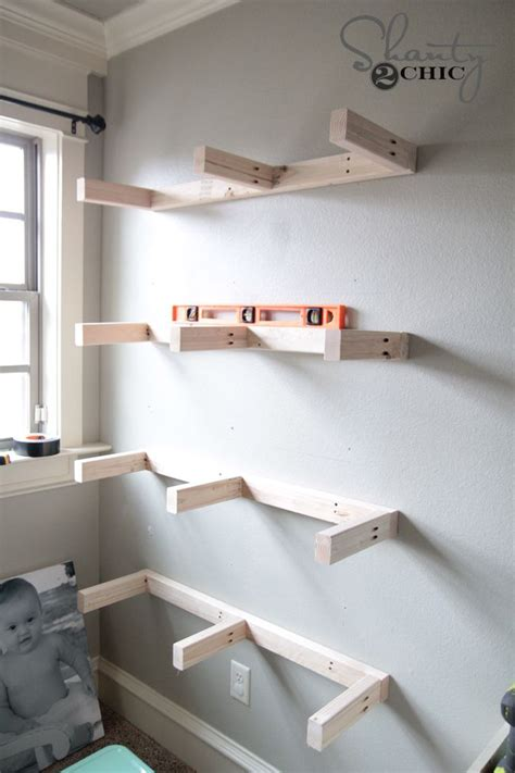 Attach Shelf To Wall by 25 Best Ideas About Wood Floating Shelves On