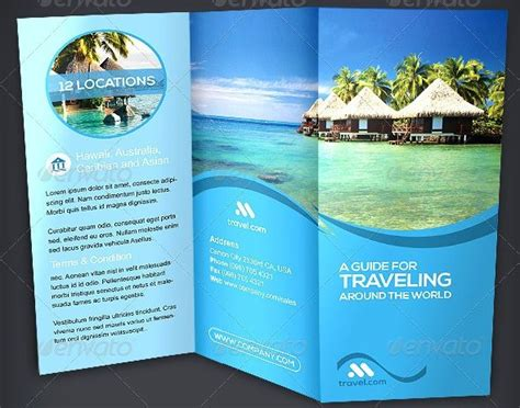 Traveling Brochure Templates by 49 Best Images About Travel Brochures On