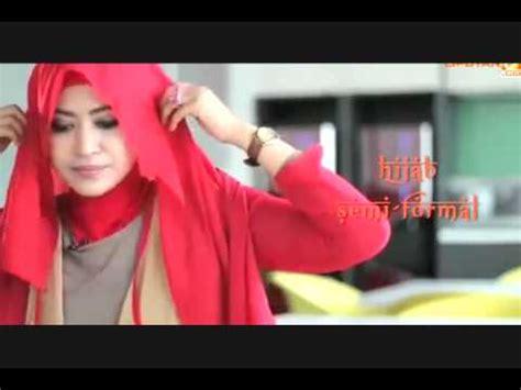 tutorial pashmina rajut glitter video tutorial hijab modern jilbab pashmina glitter
