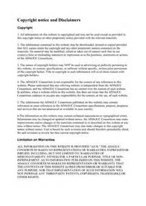 copyright infringement notice template copyright infringement notice sle