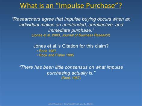 impulse buying house impulse purchasing