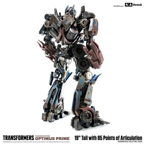 Ag The Battle 3 6set Complete Bandai Transformers Optimus Prime Evasion Edition By 3a Toys