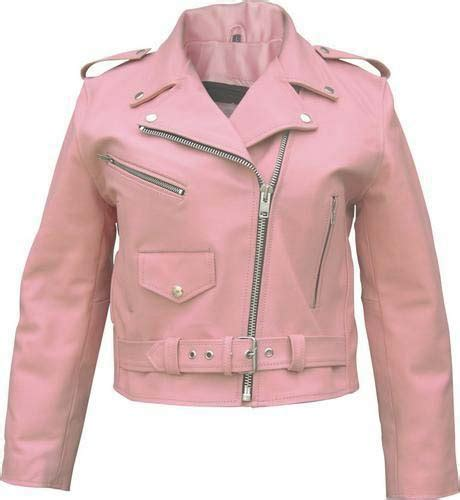 pink leather motorcycle jacket pink leather motorcycle biker rider jacket
