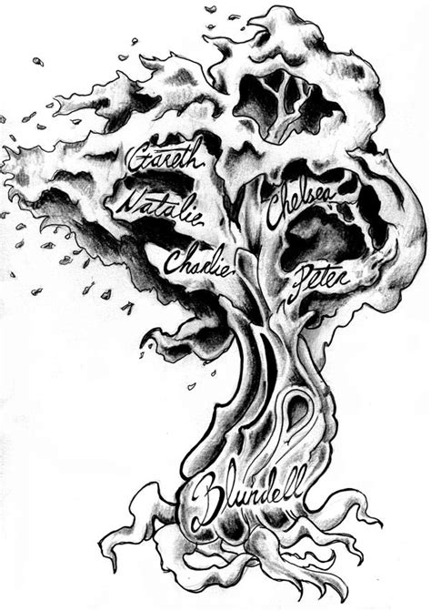 sohl family tree tattoo design 1000 ideas about family tree tattoos on