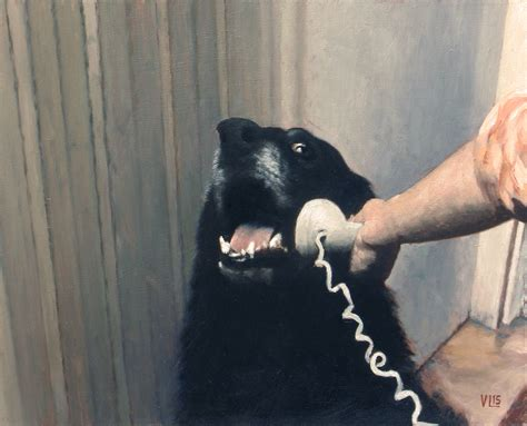 hello yes this is dog portrait valdemar lethin