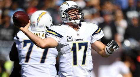 qb for the chargers philip rivers will chargers qb reach nfl of fame