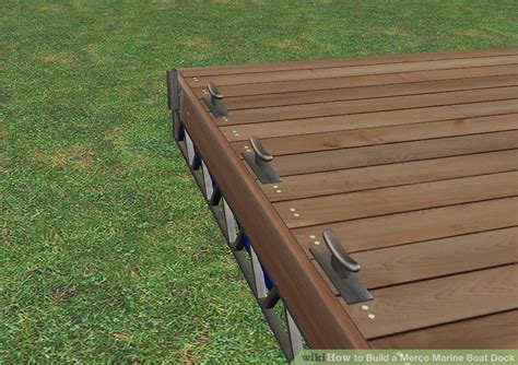 how to build a boat marina how to build a merco marine boat dock with pictures