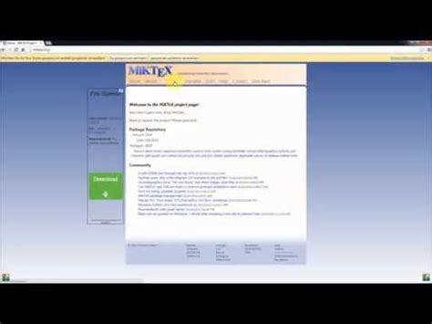 tutorial of latex in windows tutorial installing latex miktex and texmaker on a