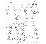 Black Forest Germany Coloring Pages &amp Book