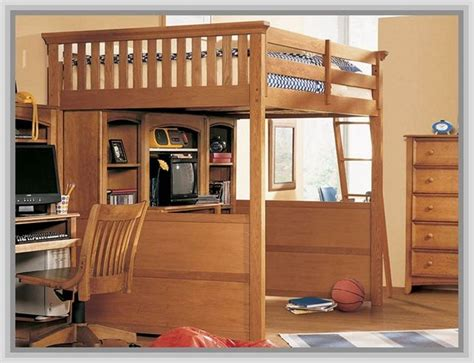size mid loft bed with desk size mid loft bed - Size Loft Bed With Desk