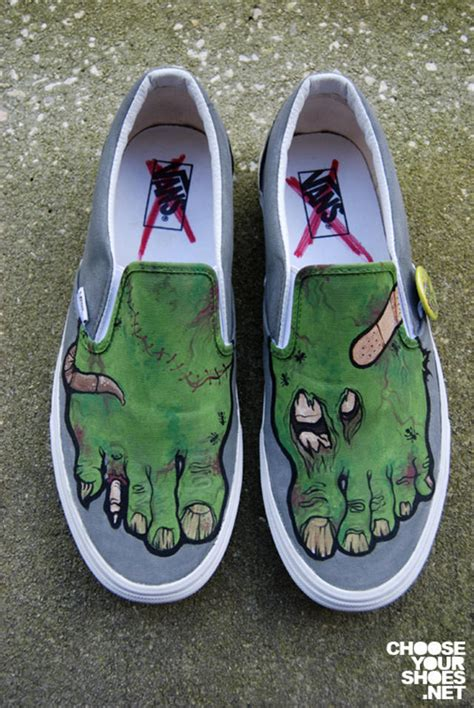 painted shoes boing boing