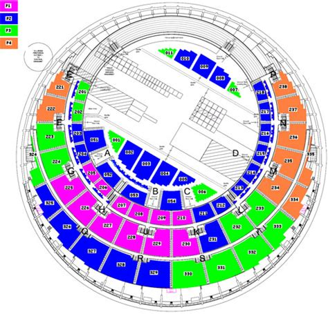 secc floor plan secc seating plan images