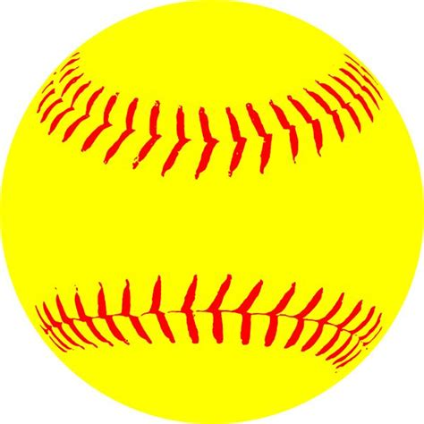 free with pictures free printable softball clipart 57