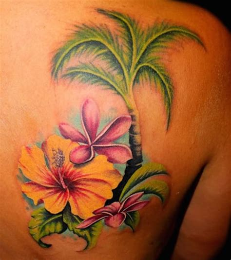 tattoo flower tree 61 amazing palm tree tattoos