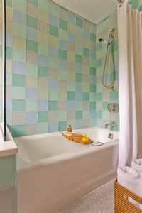 colorful tile bathroom decorating ideas for walls home