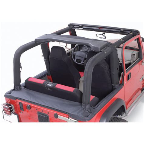 Jeep Roll Bars All Things Jeep Denim Black Roll Bar Cover Kit By