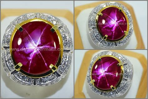 Opal Kalimaya 2 5ct batu mulia antik langka ruby burma no heat