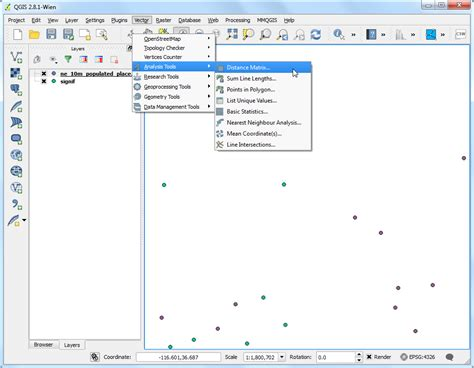 qgis analysis tutorial nearest neighbor analysis qgis tutorials and tips