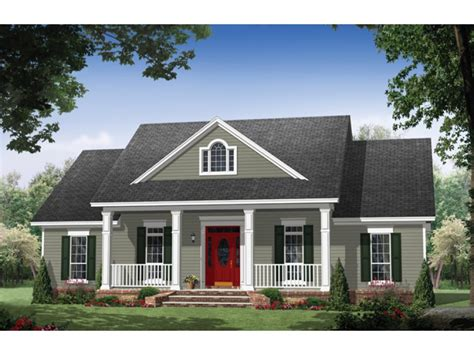 One Story Colonial House Plans by Home Plan Homepw76711 1951 Square Foot 3 Bedroom 2