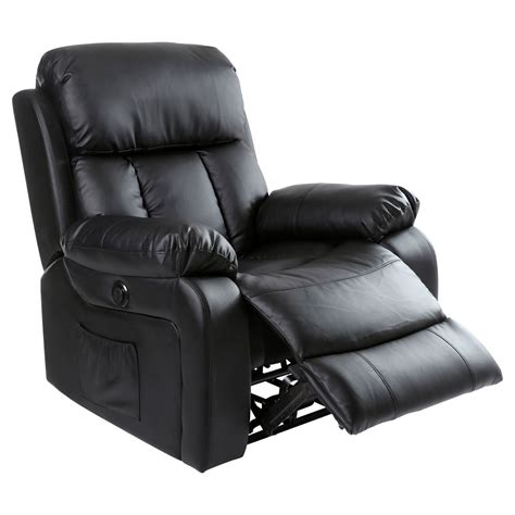 gaming recliner chairs chester electric heated leather massage recliner chair