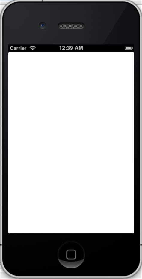 blank cell phone template crafts