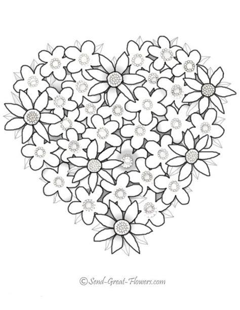 Fleur St Valentin by Coloriage Fleurs Valentin Dessin Gratuit 224 Imprimer