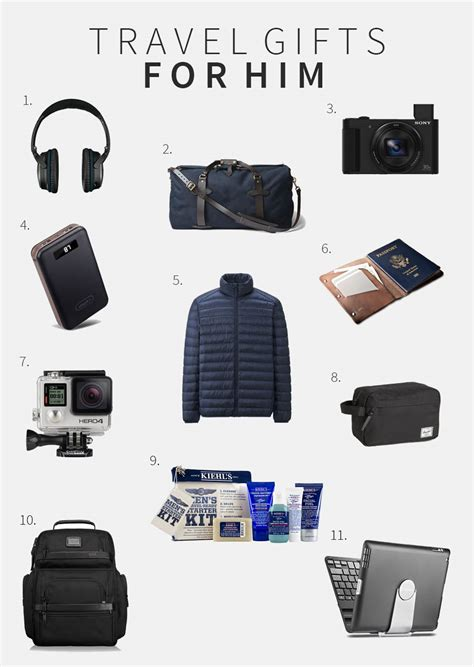 the best gifts for men who travel the travel sisters travel gifts for him the curated travel