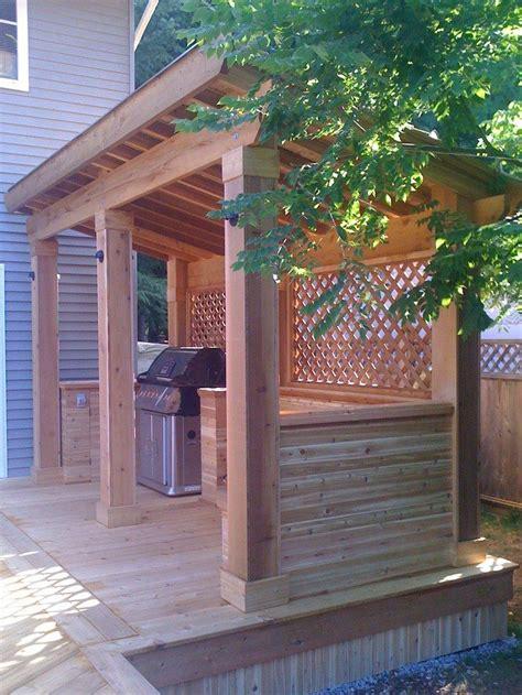 build  grill gazebo   backyard diy projects